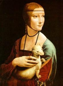 DaVinci's Lady with Ermine
